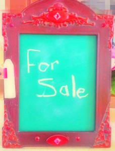Chalk Board for sale on Etsy